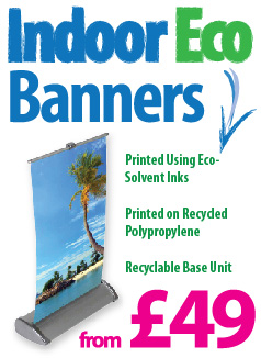 Eco Roller Banner Printing