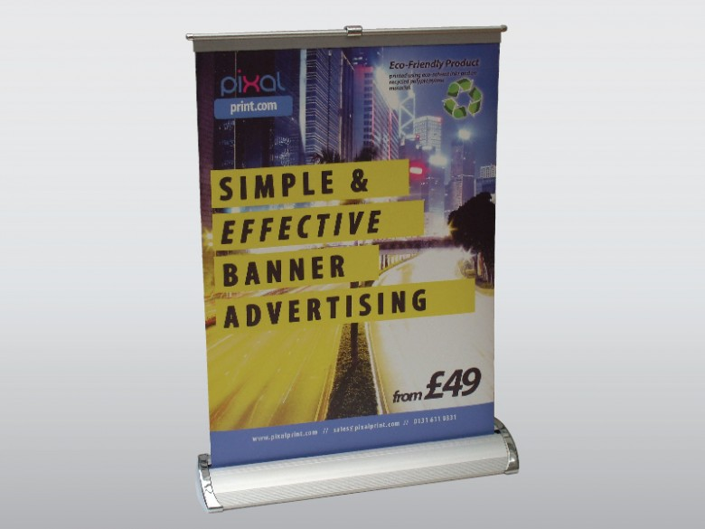 A3 Desktop Roll up Banner Display
