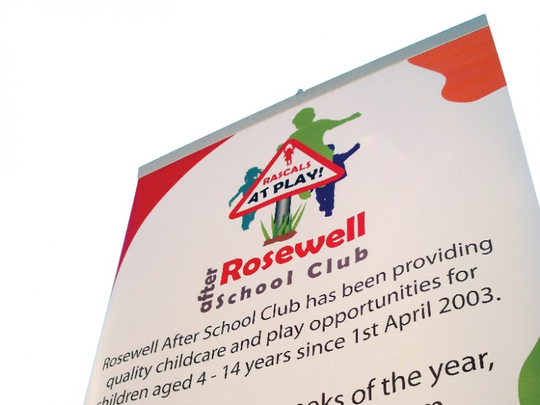 Premium Indoor Roll up Banner Display